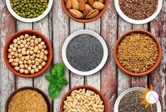 hạt dinh dưỡng thô