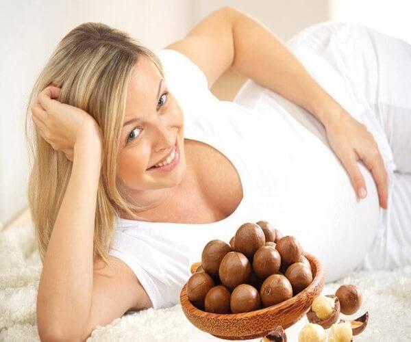 Đâu là thời điểm vàng cho mẹ bầu ăn trái Macca?
